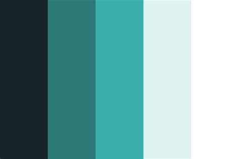 clean and modern color palette