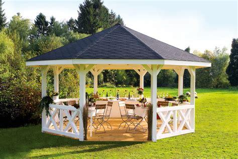 Pavillonhersteller  Vom Gartenhausfachhändler
