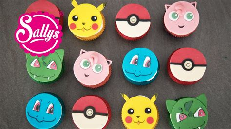pokemon  cupcakes muffins cupcake topper youtube