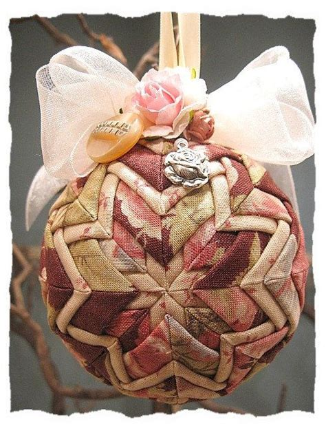 shabby fabrics quilted ornaments 1749 best christmas ideas images on pinterest christmas