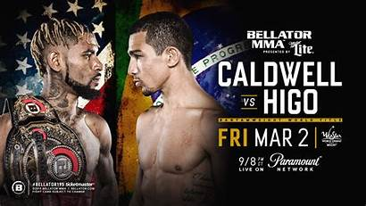 Bellator Caldwell Higo Darrion Mma Championship Title