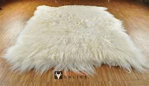 Teppich 120 X 200 : island lammfell teppich naturwei 120 x 200 cm xl langhaarig online bestellen ~ Bigdaddyawards.com Haus und Dekorationen