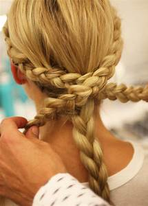 Monique Lhuillier Bridal Fall 2014 Braided Hairstyles POPSUGAR Beauty