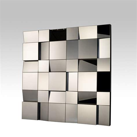 etagere murale chambre miroir design