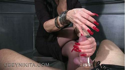 These Freaky Ladies Are Open For Stiff Stuff All The Time #Long #Red #Nails