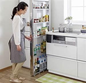 Meuble Gain De Place Pour Studio : gain de place dans la petite cuisine astuces meubles et ~ Premium-room.com Idées de Décoration