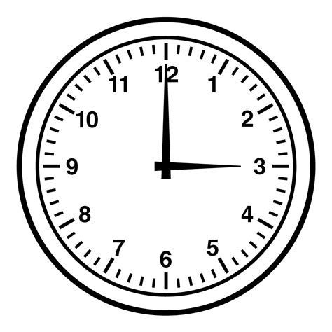 what time is world of color black and white alarm clock clipart clipground