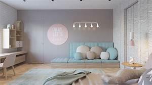 Des Couleurs Pastel : d coration intemporelle pour une chambre d 39 enfants ~ Voncanada.com Idées de Décoration