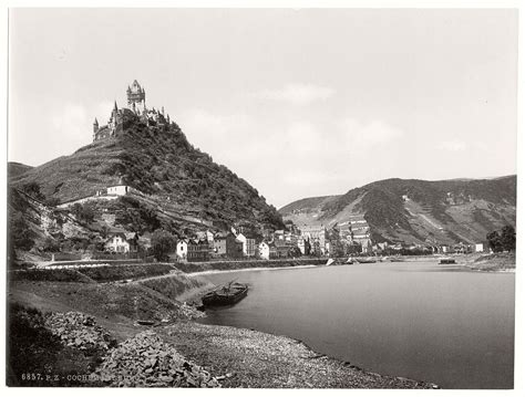 historic bw   german castles monovisions