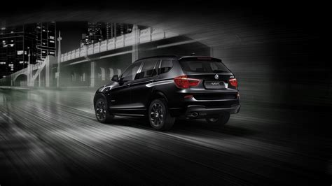 Bmw Introduces X3 Blackout Edition In Japan