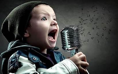 Wallpapers Voice Singer Mic Kid Talented Singing