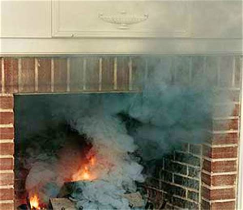smoking fireplaces chimney draft problems chimney
