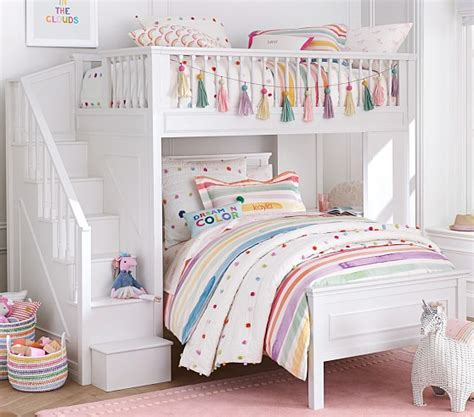 Fillmore Stair Loft Bed  Pottery Barn Kids