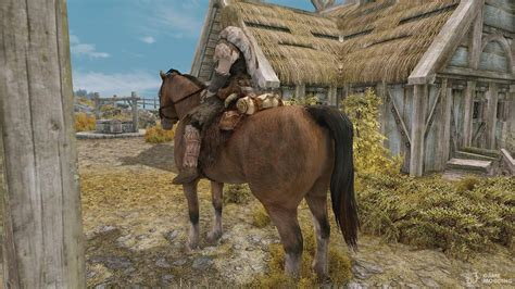 skyrim horses tes mesh ponies gamemodding