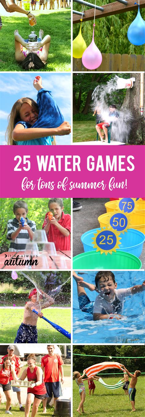 what is a fun game to play at christmas with family 25 water your can play this summer it s always autumn