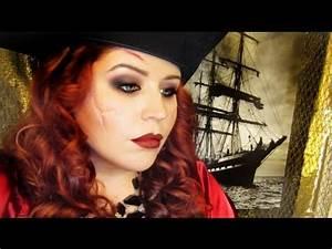 Maquillage Pirate Halloween : halloween makeup pirate wench youtube ~ Nature-et-papiers.com Idées de Décoration