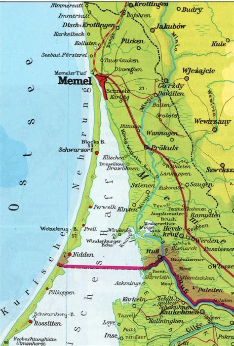 kurische nehrung maps historical maps map prussia