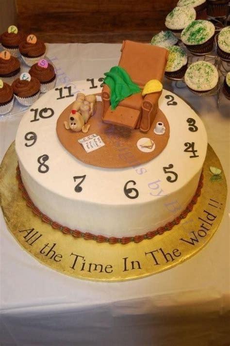 fun cake ideas  retirement party