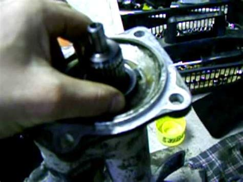 chev tahoe front differential seal replacement gear