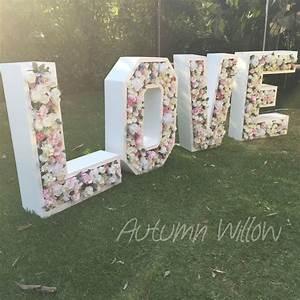 Best 25 giant letters ideas on pinterest cardboard for Giant flower letters