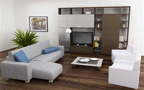 Model Small Living Room 3d model of living room set 04