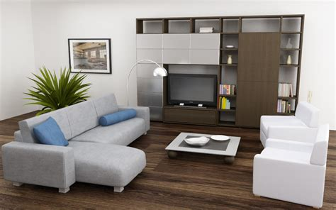 Model Living Room Set 3d model of living room set 04