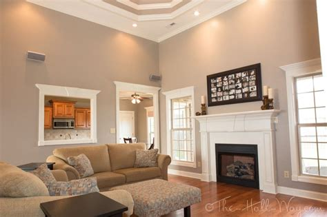 family room behr perfect taupe so chris and i may have