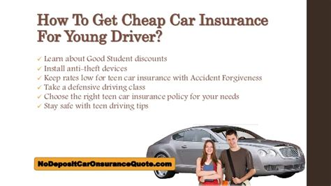 Cheap Car Insurance for Young Drivers.