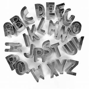 Emporte Piece Inox : emporte pi ce inox pour modelage alphabet x 26 emporte pi ce modelage creavea ~ Teatrodelosmanantiales.com Idées de Décoration