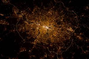London, England at Night (NASA, International Space ...