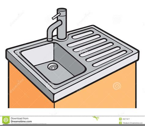 what to do when the kitchen sink is clogged kitchen sink clipart free images at clker vector 2270