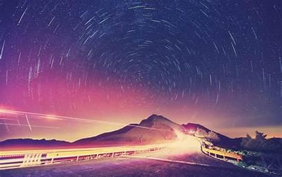 Stars Landscape Desktop Wallpapers Backgrounds Mobile