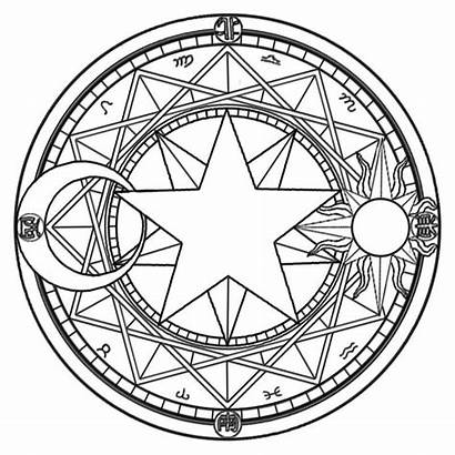 Magic Witchcraft Symbols Ancient Power Circle Circles