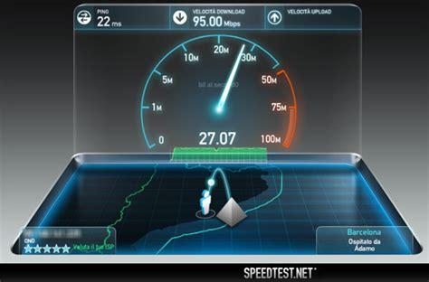 test velocità connessione fastweb cipolab 187 testare velocit 224 adsl speed test gratuito