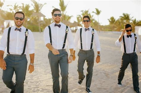 Complete Groomsmen Attire Guideline for Beach Weddings u2013 WeddCeremony.Com