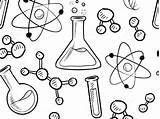 Coloring Science Pages Lab Popular Sheets sketch template