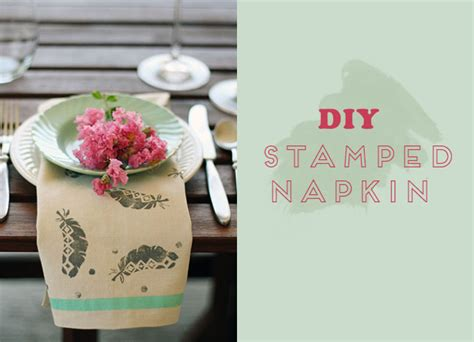 diy sted napkins green wedding shoes weddings