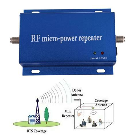 Cdma Mhz Cell Phone Signal Repeater Booster Amplifier