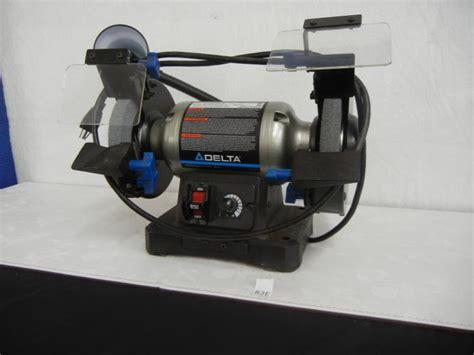delta bench grinder delta bench grinder with light