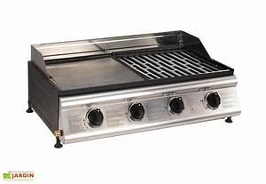 Barbecue Gaz Avec Plancha Et Grill : bbq plancha grill las palmas 4 br leurs barbecue gaz ~ Melissatoandfro.com Idées de Décoration