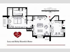 Floor Plans of Your Favorite TV Apartments Nerdist