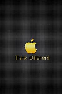 Gold iPhone 6 Wallpapers Apple Logo