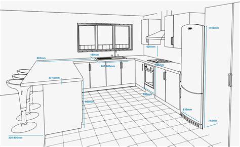 cabinet depth refrigerator key measurements for a kitchen renovation refresh