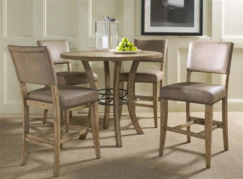 Hillsdale Charleston Round Counter Height Dining Set With