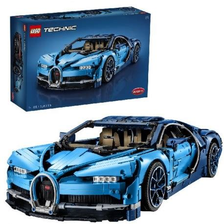 Touted as the fastest and most powerful super sports car in bugatti's history, the lego recreation is perhaps the closest we'll get to the real thing for us mere mortals. 42083 Lego Technic Bugatti Chiron goedkoop kopen bij ...