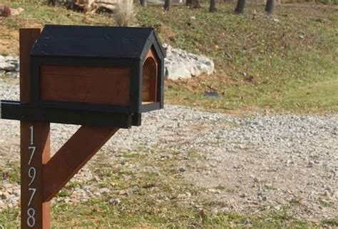 Diy Wooden Mailbox Post