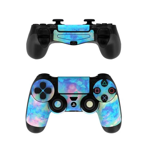 sony ps controller skin electrify ice blue  amy sia