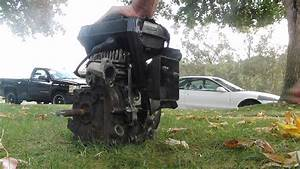 Take That Briggs And Stratton   4 Cycle Running On 2 Cycle