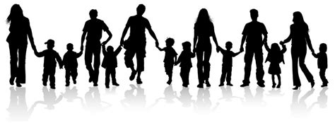 family holding hands clipart  clip art