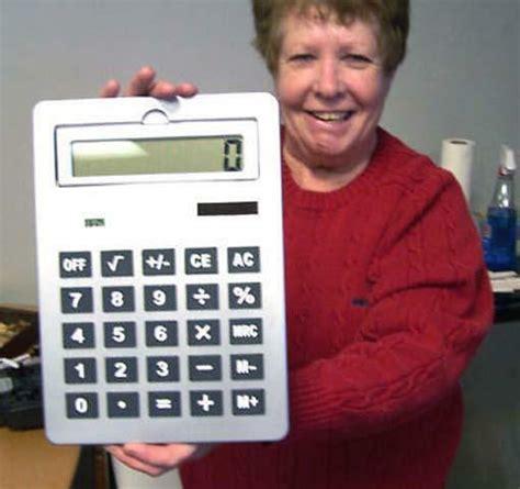 bid buy big silver solar calculator school office